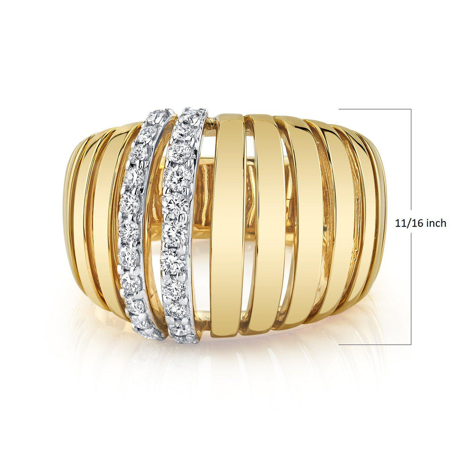 14K 0.48 Cttw VS Diamond Ring - TVON.com