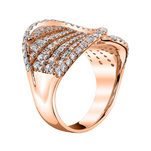 14K 2.18 Cttw VS Diamond Ring - TVON.com