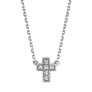 14K 0.04 Cttw VS Diamond Necklace