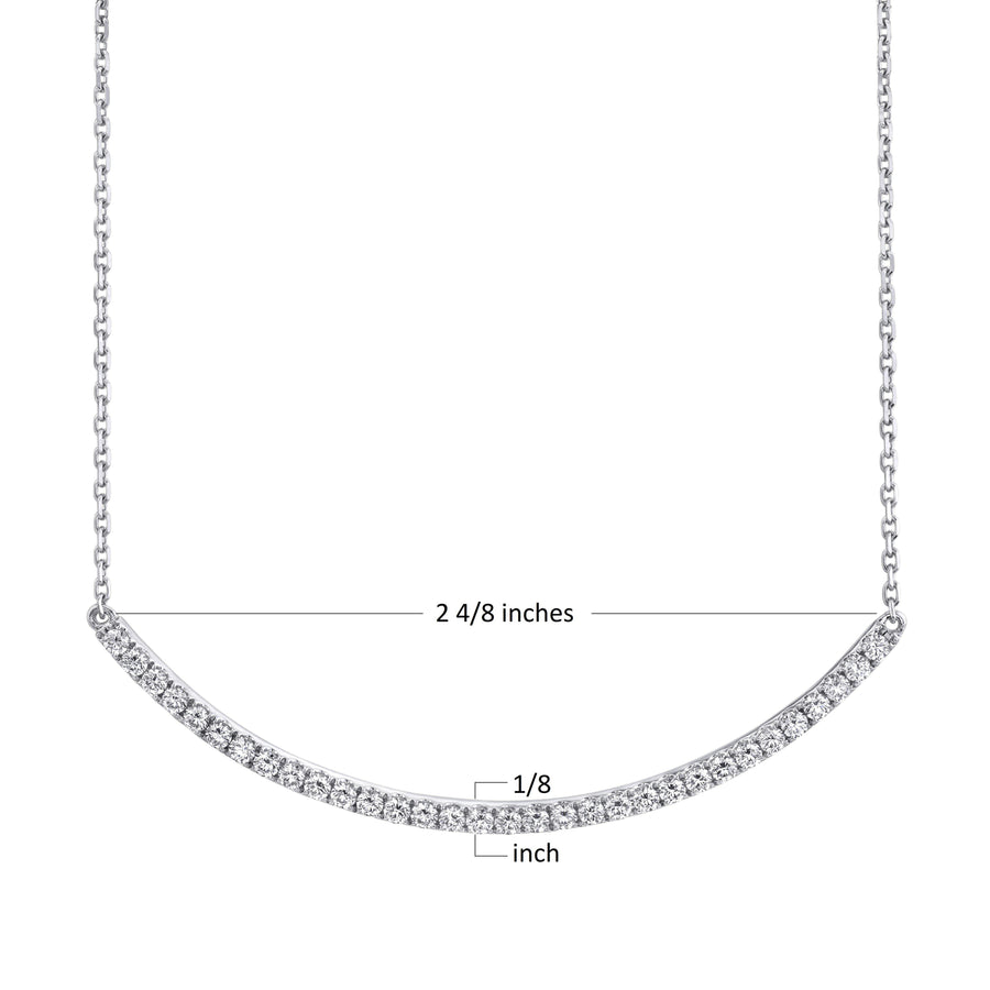14K 1.16 Cttw VS Diamond Necklace