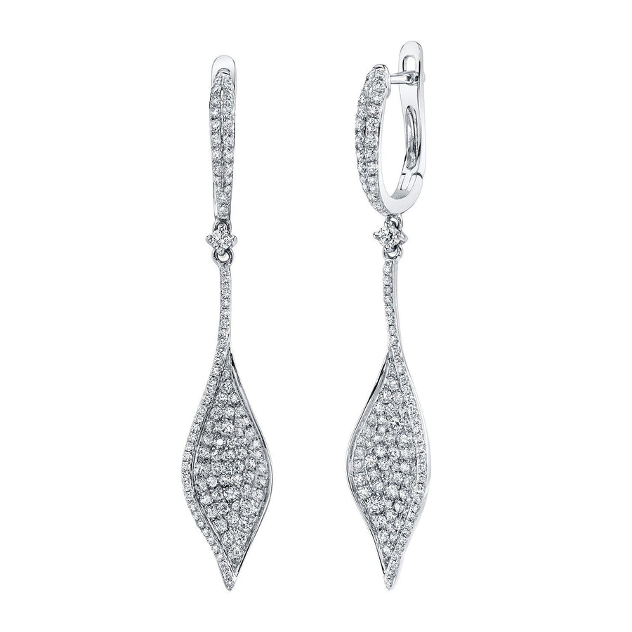 14K 1.25 Cttw VS Diamond Earrings - TVON.com