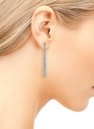 14K 0.78 Cttw VS Diamond Earrings - TVON.com