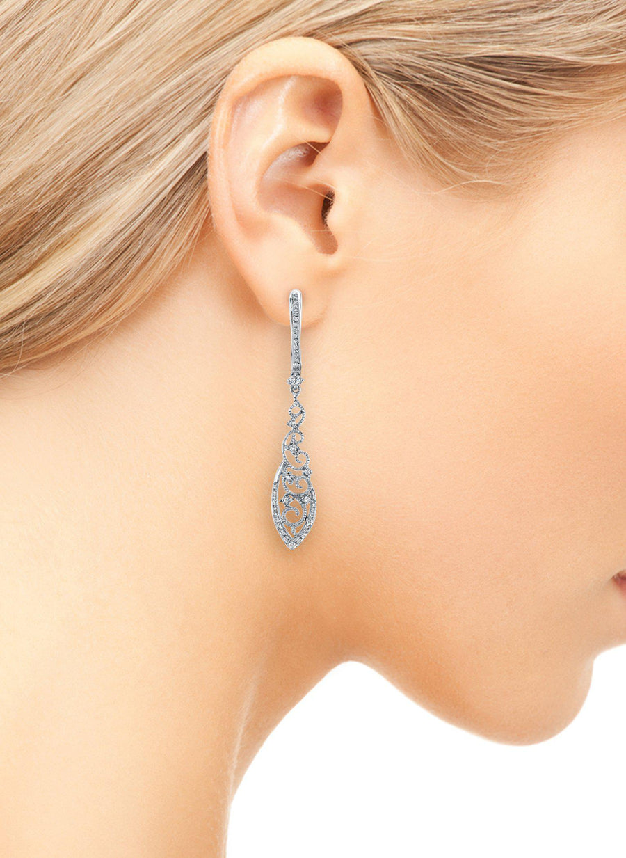 14K 0.45 Cttw VS Diamond Earrings
