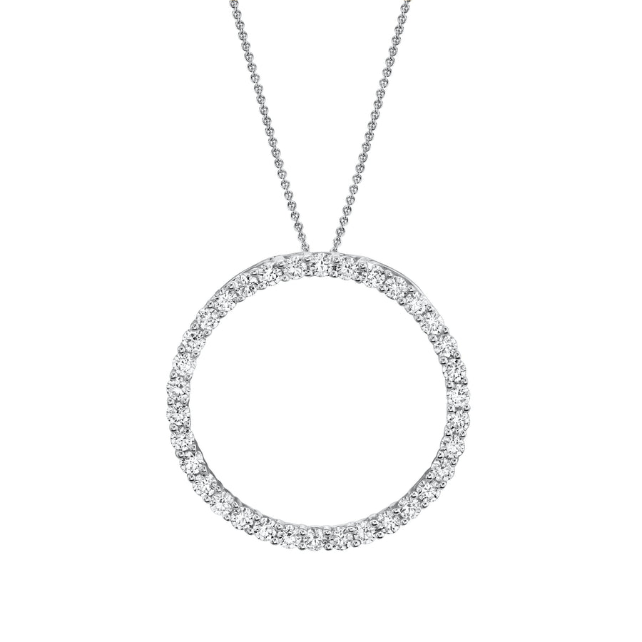 14K 1.06 Cttw VS Diamond Pendant - TVON.com