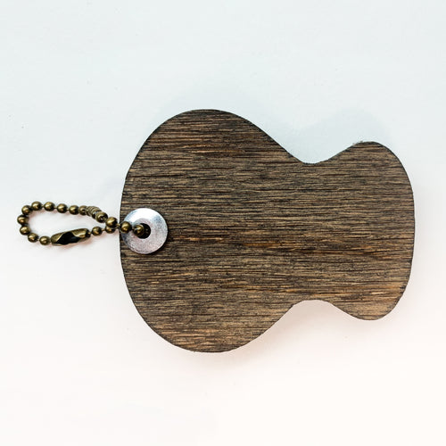 Acoustic - Pick Holding Keychain