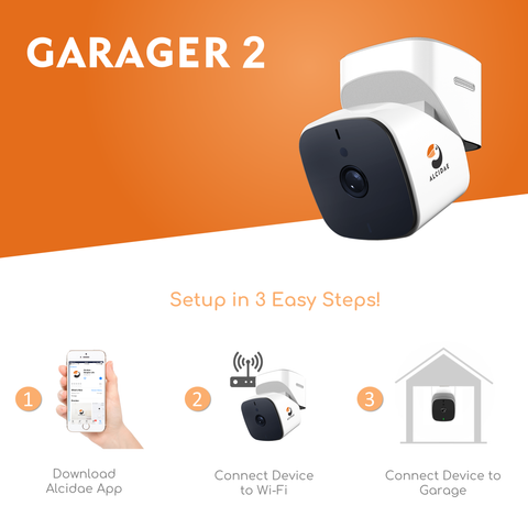 Garager 2 - Remotely Monitor and Control Garage Door Opener Through Phone