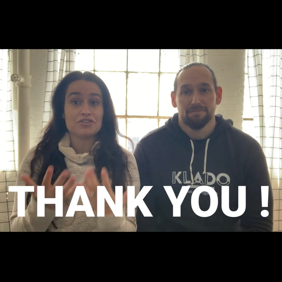 KLADO founders, Jen and Jesse, share a special message during COVID-19