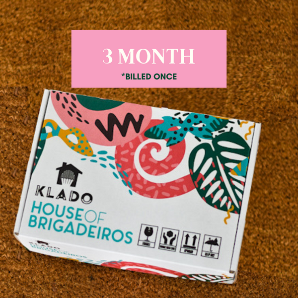 KLADO Brigadeiro of Club - 3 Month Subscription
