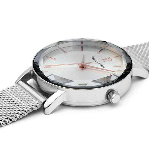 Pierre Lannier Multi Pierre Lannier Full Silver 30mm Watch