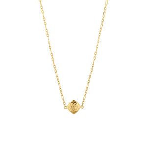 Gold Plated Mini Marigold Necklace
