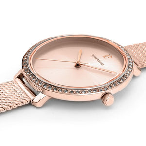 Pierre Lannier Couture Full Rose Gold 34.5mm Watch