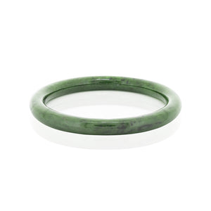Greenstone Bangle - Round
