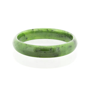 Greenstone Bangle - Flat