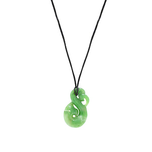 NZ Greenstone Manaia 40mm Pendant