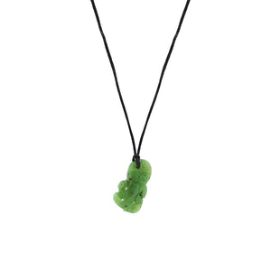NZ Greenstone Tiki 25mm Pendant