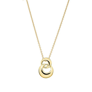 9ct Gold Forget Me Knot Pendant