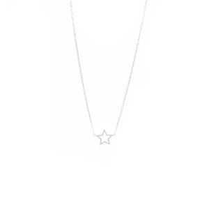 Silver Star Bright Necklace