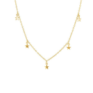 Gold Plated Twinkle Necklace