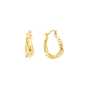 Gold Plated Kalina Earring