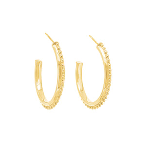 Gold Plated Lula Earrings