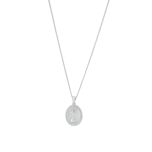 Silver La Bella Necklace