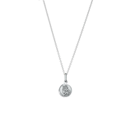 Silver Petite St Christopher Necklace