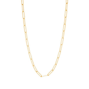 Gold Plated Boyfriend Boxy Link Chain