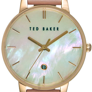 Kate Rose Gold Mother of Pearl Light Pink Watch