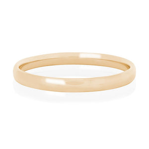 9ct Yellow Gold Luxe Bangle