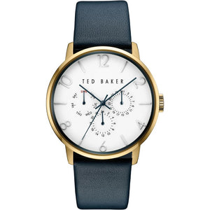 James Gold White Blue Watch
