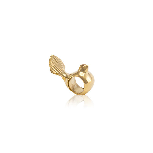 Fantail Charm (9ct Gold)