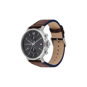 Daniel Black Brown Leather Watch