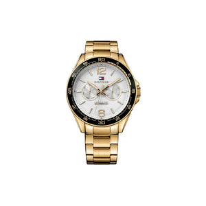 Erik White Gold Plate Stainless Steel Watch