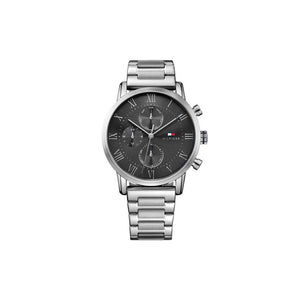 Kane Black Stainless Steel Watch