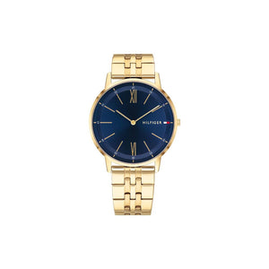 Cooper Blue Gold Plate Watch