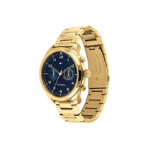 Patrick Blue Gold Plate Stainless Steel Watch