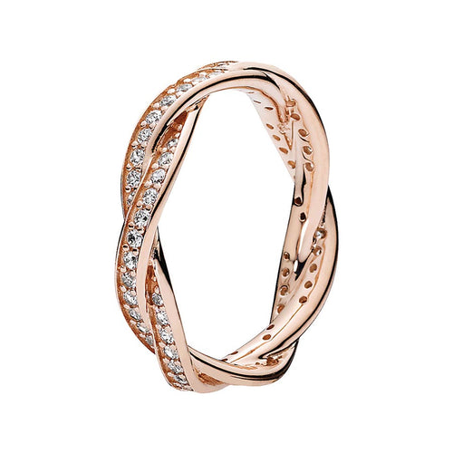 Pandora Rose Twist Of Fate Ring