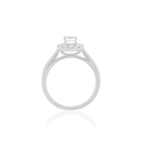 18ct White Gold Carmela Diamond Ring