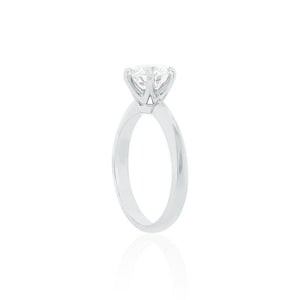 18ct White Gold Elene Diamond Ring 1D=1.50ct