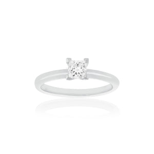 18ct White Gold Kaia Diamond Ring 1D=.50ct