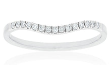 18ct White Gold Sintra Diamond Band