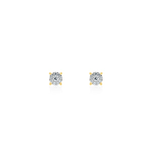 18ct Gold Alessia Diamond Stud Earrings