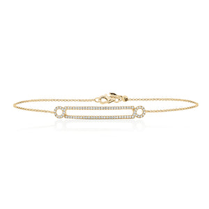 9ct Gold Meridian Diamond Bracelet