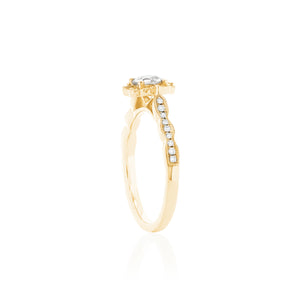 18ct Yellow Gold Rosalia Diamond Ring