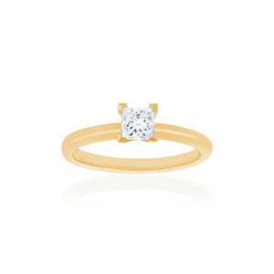 18ct Yellow Gold Kaia Diamond Ring 1D=.50ct