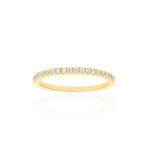 18ct Yellow Gold Lavina Diamond Band