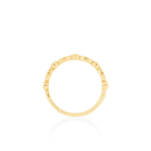 18ct Yellow Gold Olivia Diamond Band