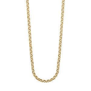 9ct Gold Round Belcher Chain