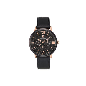 Beaucour Black Rose Gold Black 42mm Watch