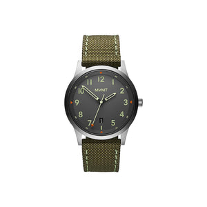 Field Green Canvas Men's Watch